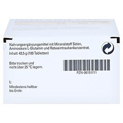 Selen Forte Syxyl Tabletten 100 Stück - Unterseite