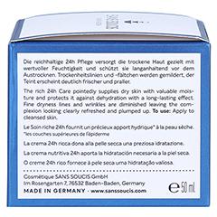 SANS SOUCIS MOISTURE Aqua Benefits 24h Pflege für trockene Haut 50 Milliliter - Rechte Seite