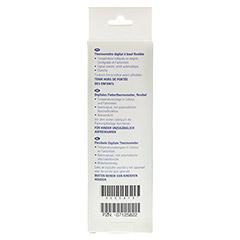 ALVITA digitales Fieberthermometer flexibel 1 Stück - Rückseite