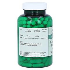 L-ARGININ 400 mg Kapseln 180 Stück - Rechte Seite
