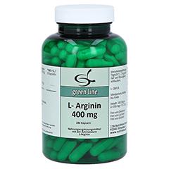 L-ARGININ 400 mg Kapseln 180 Stück