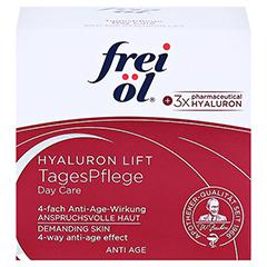 frei öl Anti Age Hyaluron Lift Tagespflege 50 Milliliter - Vorderseite