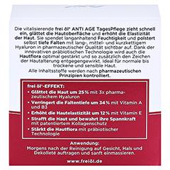 frei öl Anti Age Hyaluron Lift Tagespflege 50 Milliliter - Rückseite