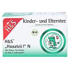 H&S Bio Haaatzii N Kinder- und Elterntee Fbtl. 20x1.5 Gramm - Vorderseite