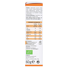 INGWER GINJER Ingwerwürfel Orange 60 Gramm - Linke Seite
