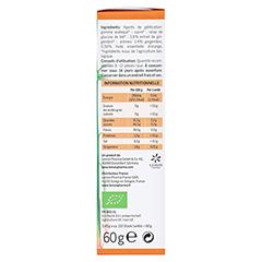INGWER GINJER Ingwerwürfel Orange 60 Gramm - Rechte Seite