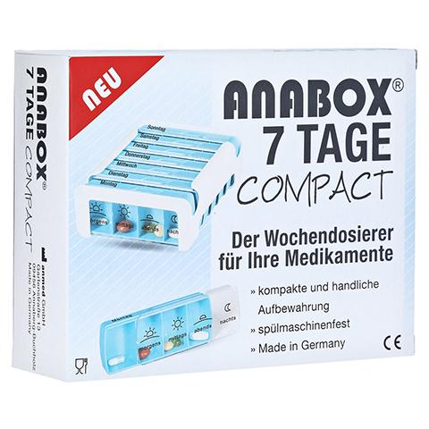 ANABOX Compact 7 Tage Wochendosierer blau/weiß 1 Stück
