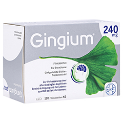 Gingium 240mg 120 Stück N3