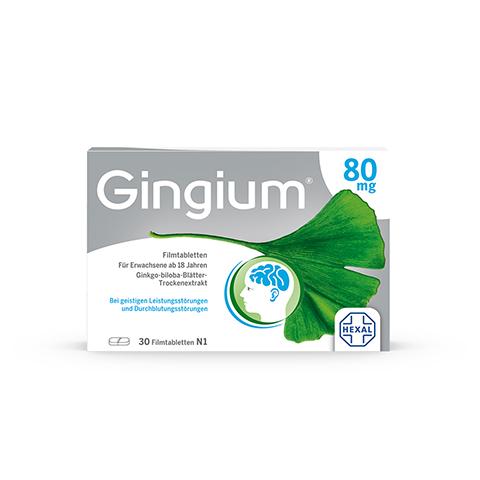 Gingium 80mg 30 Stück N1