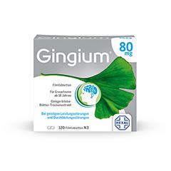 Gingium 80mg 120 Stück N3
