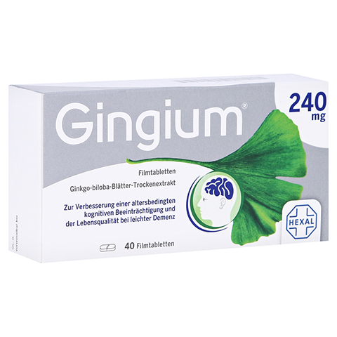 Gingium 240mg 40 Stück
