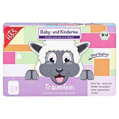 H&S Bio Baby- u.Kindertee Träumfein Filterbeutel 20x1.2 Gramm - Vorderseite