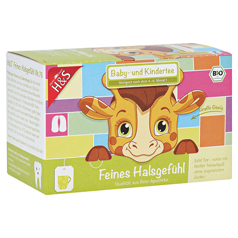 H&S Bio Baby- u.Kindertee Feines Halsgefühl Fbtl. 20x1.5 Gramm