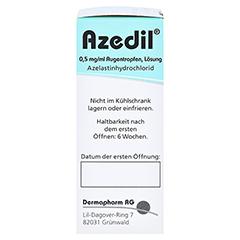Azedil 0,5mg/ml 6 Milliliter N1 - Rechte Seite