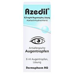 Azedil 0,5mg/ml 6 Milliliter N1 - Vorderseite