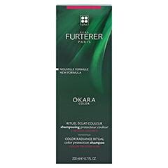 René Furterer Okara Color Farbschutz Shampoo 200 Milliliter - Rückseite