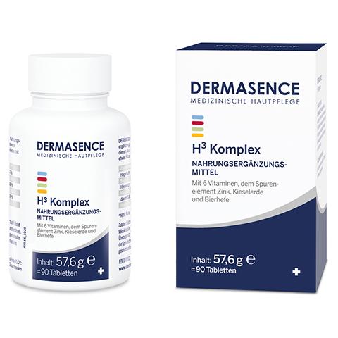 Dermasence H3 Komplex Tabletten 90 Stück