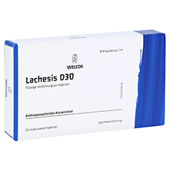 LACHESIS D 30 Ampullen 8x1 Milliliter N1