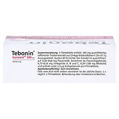 Tebonin konzent 240mg + gratis Tebonin Marco Polo Reiseführer 80 Stück - Oberseite