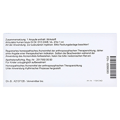 ARTICULATIO humeri GL D 12 Ampullen 10x1 Milliliter N1 - Rückseite