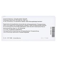PERITONAEUM GL D 5 Ampullen 10x1 Milliliter N1 - Rückseite