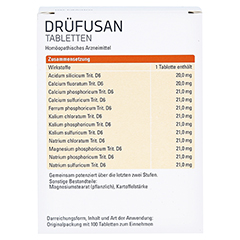 DRÜFUSAN Tabletten Syxyl 100 Stück N2 - Rückseite