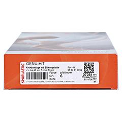 GENU-HIT Kniebandage Gr.6 platinum 07081 1 Stück - Unterseite