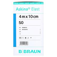 ASKINA Elast Binde 10 cmx4 m lose 50 Stück - Linke Seite