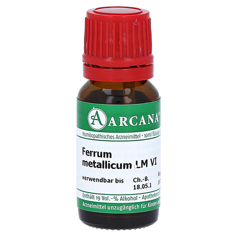 FERRUM METALLICUM LM 6 Dilution 10 Milliliter N1