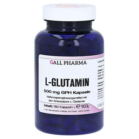 L-GLUTAMIN 500 mg GPH Kapseln 180 Stück