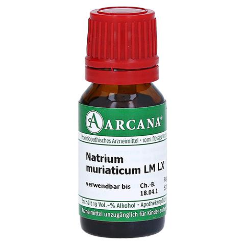 NATRIUM MURIATICUM LM 60 Dilution 10 Milliliter N1