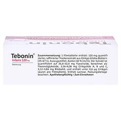 Tebonin intens 120mg 120 Stück N3 - Oberseite