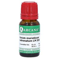 AURUM MURIATICUM NATRONATUM LM 30 Dilution 10 Milliliter N1