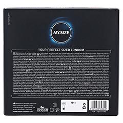 MYSIZE 57 Kondome 36 Stück - Rückseite