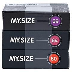 MYSIZE Testpack 60 64 69 Kondome 3x3 Stück - Unterseite