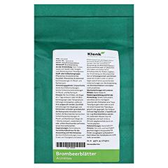 BROMBEERBLÄTTER Tee 250 Gramm - Rückseite