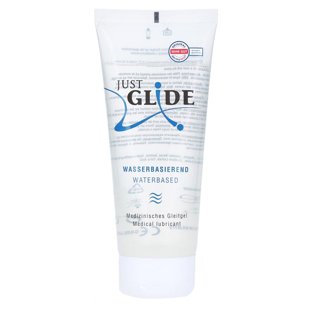 just-glide-med-gleitgel-water-200-milliliter