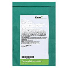 TAUSENDGÜLDENKRAUT Tee 250 Gramm - Rückseite
