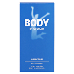 EVERDRY Body Tücher 10 Stück - Vorderseite