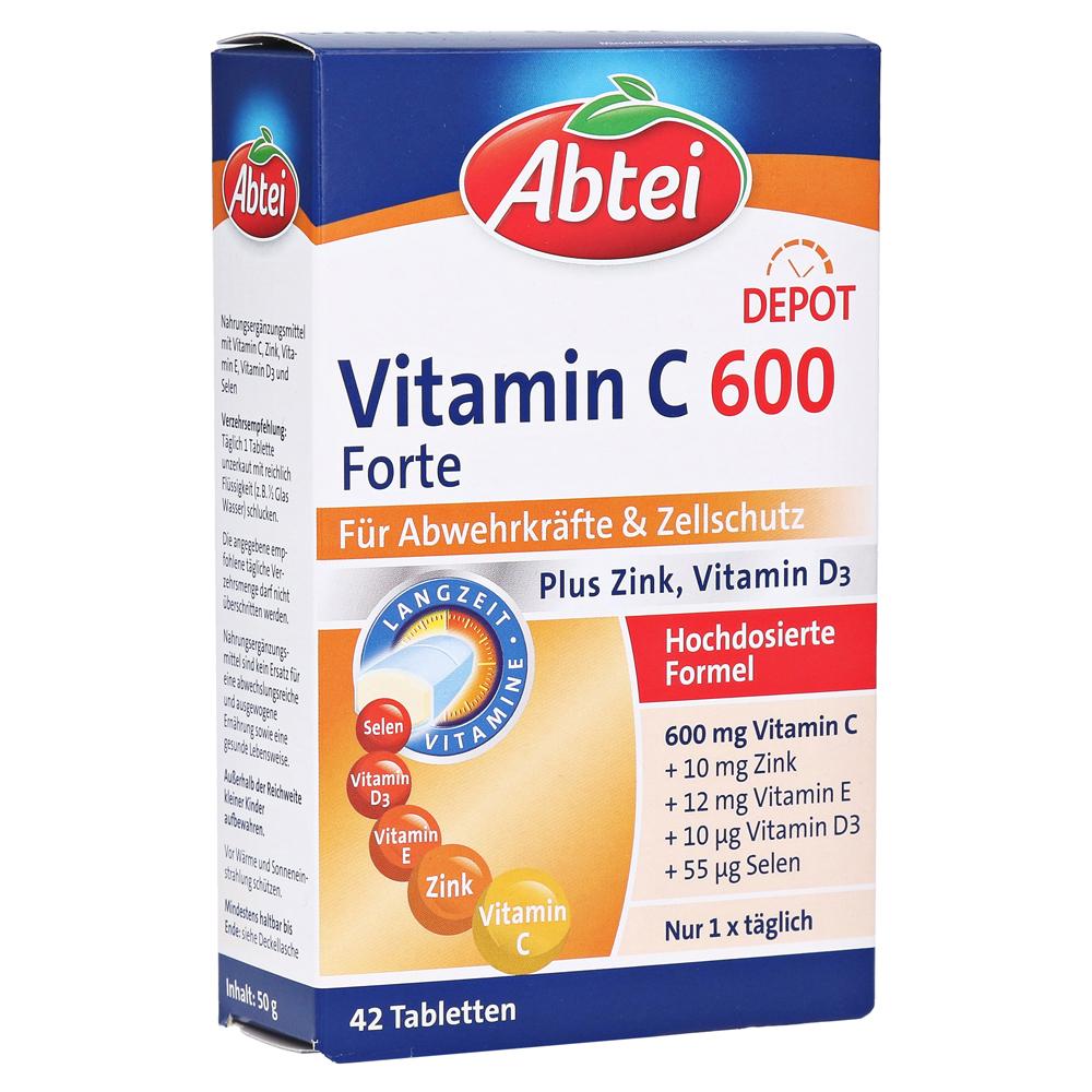 abtei-vitamin-c-600-forte-42-stuck, 5.29 EUR @ medpex-de