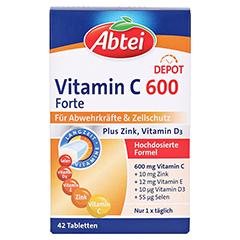 ABTEI Vitamin C 600 (Forte Plus) 42 Stück - Vorderseite