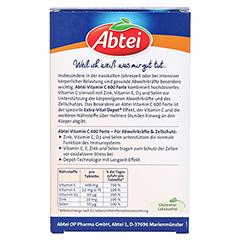ABTEI Vitamin C 600 (Forte Plus) 42 Stück - Rückseite