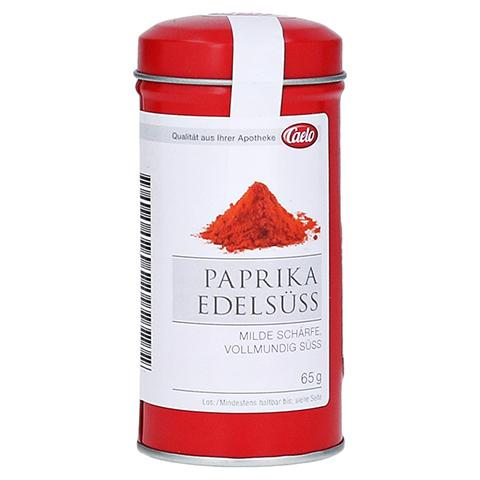 PAPRIKA edelsüß Pulver Blechdose Caelo HV-Packung 65 Gramm