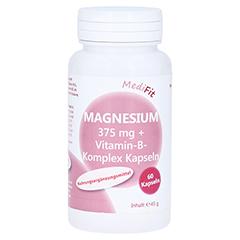 MAGNESIUM 375 mg+Vitamin B Komplex Kapseln 60 Stück