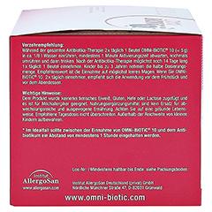 OMNi BiOTiC 10 Pulver 40x5 Gramm - Rechte Seite