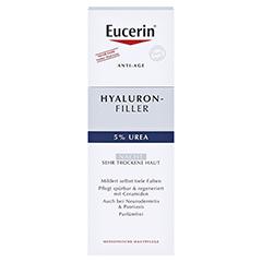 Eucerin Hyaluron-Filler Urea Nachtpflege Creme + gratis Eucerin Dermatoclean Mizellen-Reinigung 100ml 50 Milliliter - Vorderseite