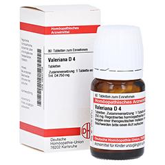 VALERIANA D 4 Tabletten 80 Stück N1