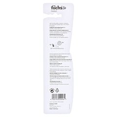 FUCHS Dentosan medium Zahnbürste 1 Stück - Rückseite
