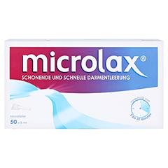 Microlax Rektallösung 50 Stück - Vorderseite
