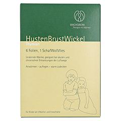 HUSTEN BRUST Wickel Thymian Wachswerk 6 Stück - Vorderseite